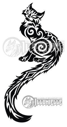Tattoo: Kitty by Illumielle on deviantART