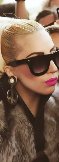 ~Lady Gaga Glam Sunnies | The House of Beccaria