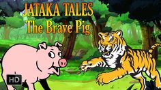 #Jataka #Tales - The Brave Pig - #AnimalStories - #Animation #Cartoon #StoriesforChildren - #KidsStories