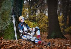 Ves from Blue Stripes, from fantastic game by CD Projekt RED - The Witcher 2: Assassins of Kings. I made this costume for their cosplay contest. I didn't win anything, but I'm still glad I took par...