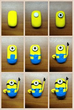 how to draw a minion step by step | Joey Kayvern: How to make a Minion ? (Despicable Me)