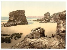 [Bedruthan Steps, I, Cornwall, England] | Library of Congress