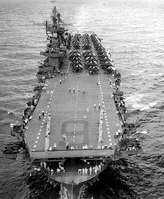 The Yorktown class was a class of three aircraft carriers built by the U.S. and completed shortly before World War II. They bore the brunt of early action in that war, and USS Enterprise, the sole survivor of the class, became the most decorated ship in the history of the U.S. Navy.