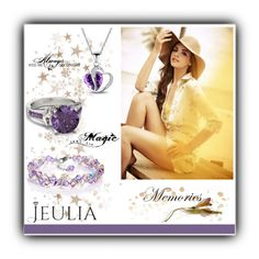 """""""Jeulia 12"""" by aida-1999 ❤ liked on Polyvore featuring Love Quotes Scarves, women's clothing, women's fashion, women, female, woman, misses, juniors, jewelry and jeulia"""