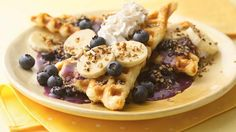 Waffles without the batter? It's easy with Pillsbury® crescents. Made these and they are great!!!