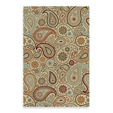 Concord Global Paisley Ivory Rugs - Bed Bath & Beyond