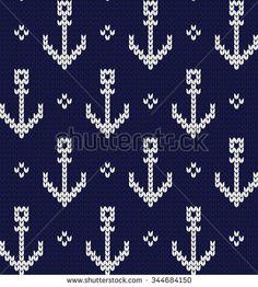 Benzer Set of Fair Pattern sweater design on the wool knitted texture. Red and Blue Knitting Ornament Görselleri, Stok Fotoğrafları ve Vektörleri - 327357905 Stock Images similar to ID 327357905 - set of fair pattern sweater. Baby Hats Knitting, Fair Isle Knitting, Knitting Charts, Knitting Stitches, Hand Knitting, Crochet Patterns Filet, Cross Stitch Patterns, Knitting Patterns, Knitting Tutorials