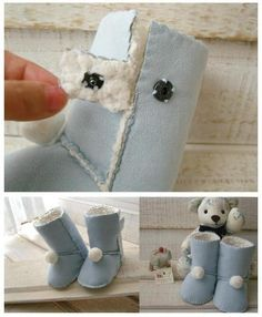 DIY: Baby UGG Boots selbst gemacht