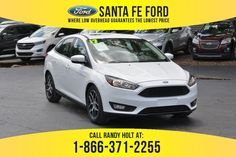 Used 2017 Ford Focus SEL FWD Sedan For Sale Gainesville FL - 40366P Used Ford Focus
