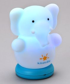 Look what I found on #zulily! Elephant Rechargeable Night Light by KinderGlo #zulilyfinds