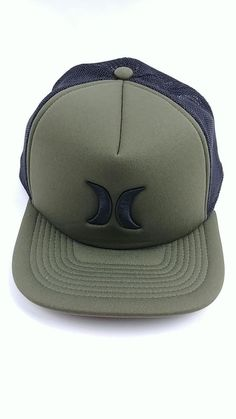 Details about Hurley Men s Snapback Bright Yellow Grey Black Blocked 3.0  Surf Trucker Hat e82a67582311