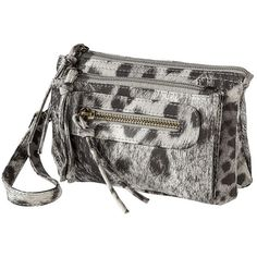 Mossimo Supply Co. Leopard Wristlet - Gray ( 13) ❤ liked on Polyvore Mossimo 8681f40bc