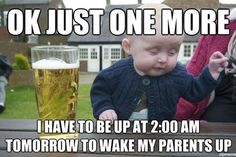 Best baby and toddler memes of 2012: Drunk Baby
