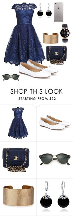 """""""Untitled #234"""" by ntone3 ❤ liked on Polyvore featuring Chloé, Chanel, Ray-Ban, Panacea and Bling Jewelry"""