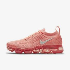 190c591bb235 Explore and buy the Nike Womens Air Vapormax Flyknit 2 Crimson Pulse Coral  Stardust. Stay a step ahead of the latest sneaker launches and drops.
