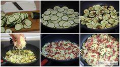 Sartenada De Calabacin Con Queso Y Jamon Tres Ingredientes