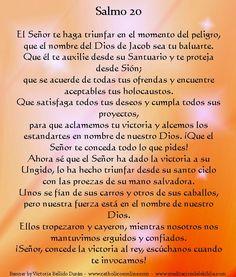 Salmo 20 spanish | Salmo 20