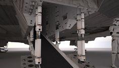 millenium falcon exterior images