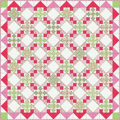 Christmas Quilt by RhubarbPatch, via Flickr