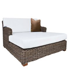 Grab some friends & a Kubu Double Daybed, and your backyard is complete.  You can all enjoy some sun & relaxation on this outdoor summer sleeper. Shown here in a slate finish. Also available in Club Chair, Sofa, Loveseat, & Ottoman. Get the whole collection for the ultimate backyard experience!