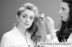 Fifty Shades of Grey inspired wedding Captured in Essex, New Pixels Photography ! Bridal getting ready shots