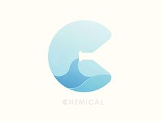 Rather cool negative space idea. Chemical by Yoga Perdana