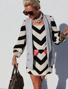 On Trend: Chevron Shapes & Prints