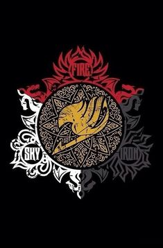 Fairy Tail Dragon Slayers logo -- I want to buy this for someone