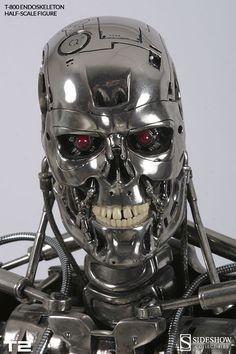 Terminator T-800 Endoskeleton 1:2 Scale Replica Scaled Repli | Sideshow Collectibles
