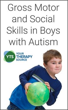 Pediatric Physical Therapy published research on the relationship between gross motor and social skills in boys with autism spectrum disorder (ASD). Physical Activities For Toddlers, Sensory Toys For Autism, Motor Skills Activities, Autism Activities, Therapy Activities, Communication Activities, Autism Resources, Therapy Ideas, Pediatric Occupational Therapy