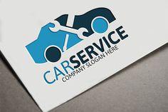 Car Service Logo Templates - 100 Editable – 100 Re-sizable – 100 vectors- Vertical & horizontal layout- Variations : by Josuf Media Custom Logo Design, Custom Logos, Graphic Design, Service Logo, Auto Service, Company Slogans, Company Logo, Logo Honda, Logos Ideas