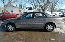 2002 BUICK REGAL  100,842 Miles  Sedans and Coupes   Automatic  6 cylinders   3.8 engine  $1000 DOWN $250/MONTH
