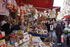 This is where the food on sale tells a story about local life Fish And Meat, Fresh Pasta, Pompeii, Walking Tour, The Locals, The Cure, The Incredibles, Life, Food