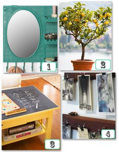 It's been a while since college, but I sure do love these decorating tips (dorm or no dorm!)