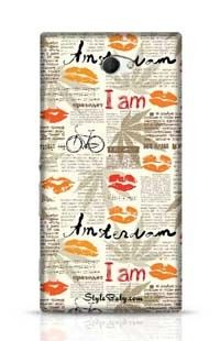 Imitation Of Newspaper Amsterdam Sony Xperia M2 Phone Case