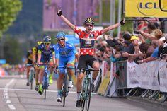 Koen Bouwman wins stage 3 at the Criterium du Dauphine