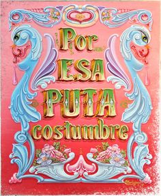 Vintage Typography, Typography Design, Type Illustration, Signwriting, Arte Popular, Painted Signs, Design Elements, Art Decor, Paper Art