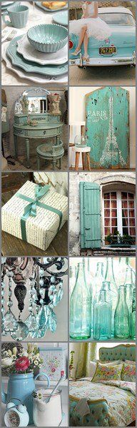 Shabby Chic Turquoise