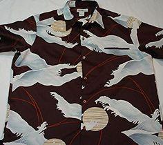 Incredible #Vintage #Tori Richard #Hawaiian Celestial #Surf #Graphic Design Shirt! Like this? More GR8, Unique Stuff Here! http://myworld.ebay.com/lotstasell/