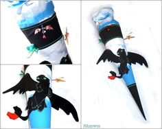 Fast schon reif für Halloween - Tolles Schultüten Design von Susanne - selbst genäht zum Schulstart Nähwettbewerb