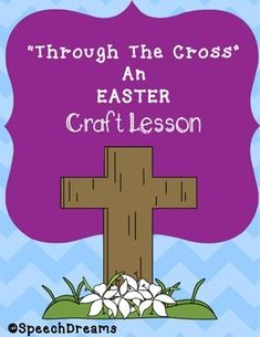 Do you need an Easter Craft Object Lesson for your egg hunt or children's church lesson?  Grab this one!  I have included all you need to create the craft that you see in the thumbnail image.  You will receive a cutting guide for the grass, the grass and sky colored paper, the heading and the cross images.