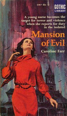 Mansion of Evil by Caroline Farr