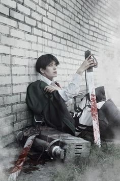 AMAZING cosplay ll Attack on Titan ll Special Operations Squad: Levi Ackerman