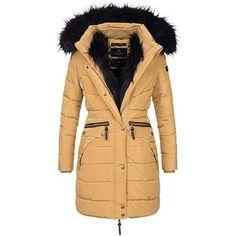 Winterjacke Marikoo Damen Jacke Parka Manolya Warm Mantel 76gbfvYIy