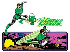 The Emerald Gladiator by José Luis García-López from the 1982 DC Comics Style Guide