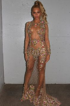 Beyonce Is Naked for Met Gala