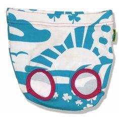 Plastisock Βρεφικό Βρακάκι Γαλάζιο-Λευκό Σετ των 2 Coin Purse, Underwear, Purses, Wallet, Blue, Fashion, Handbags, Moda, Fashion Styles