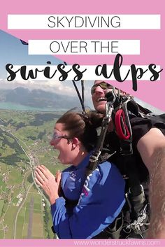 The most beautiful place to go skydiving? I actually think so!! Book me a…