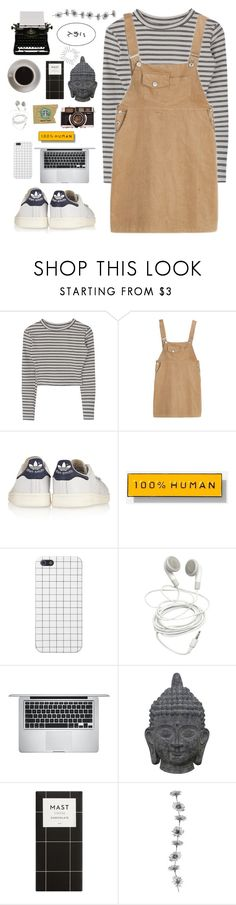 """""""What I'll be doing"""" by joycereina ❤ liked on Polyvore featuring adidas Originals, Everlane, Apple, Three Hands and Bunn"""