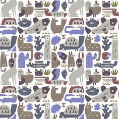 Colima Pattern by Alexander Vidal.